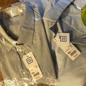 ⚡️TWO⚡️ New Uniqlo shirts - selling together